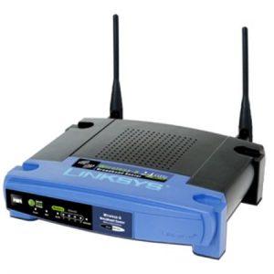 Router wireless Linksys WRT54GL
